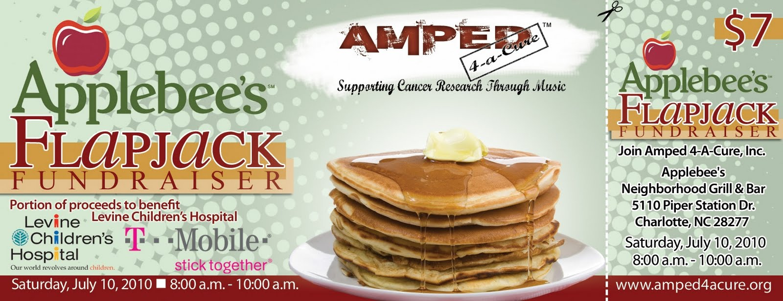 social media and mobile marketing  flapjack fundraiser to